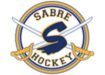Logo Sabre Youth Hockey at Rocket Ice Skating Rink