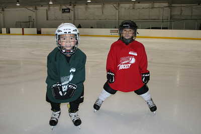 Learn to Play Hockey Students