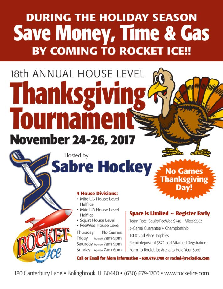 2017 Thanksgiving Tournament Flyer