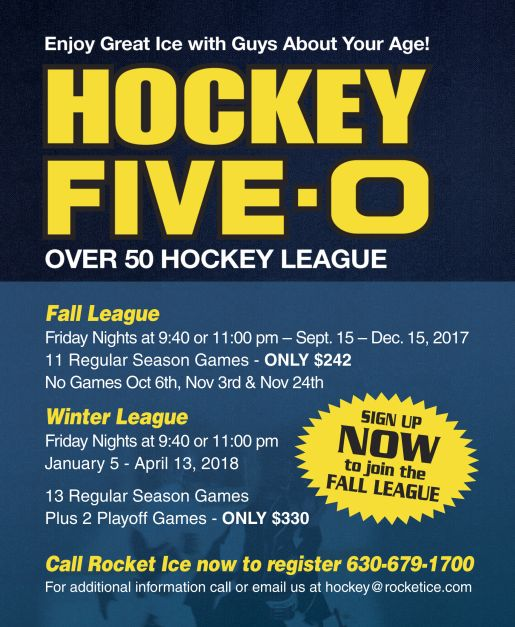 Hockey Five-O Fall-Winter 2017-2018