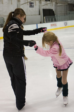 Learn to Skate Lesson