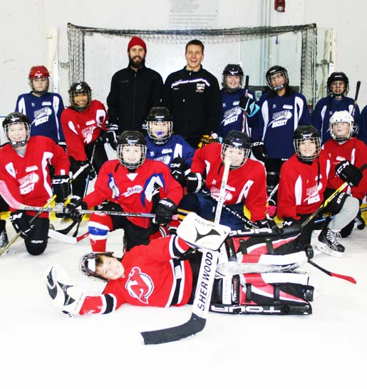 Hockey Lessons end of the year team picture