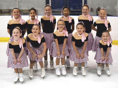 Synchronized Ice Skating Tot Team