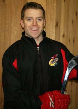 Rocket Ice Hockey instructor Tom Galvin.
