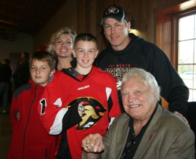 Bobby Hull and Hockey Family