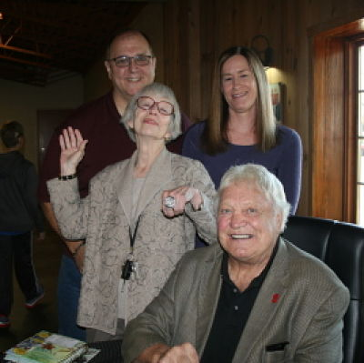 Bobby Hull with Mary and Friend