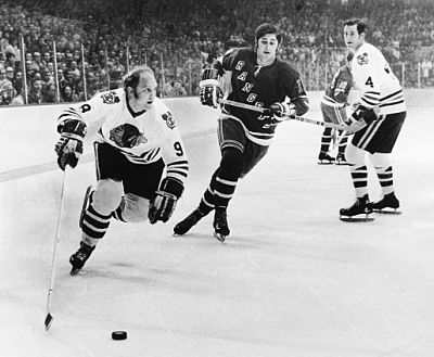 Bobby Hull in action