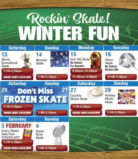 Mobile Public Skate Calendar Jan 13-Feb 4